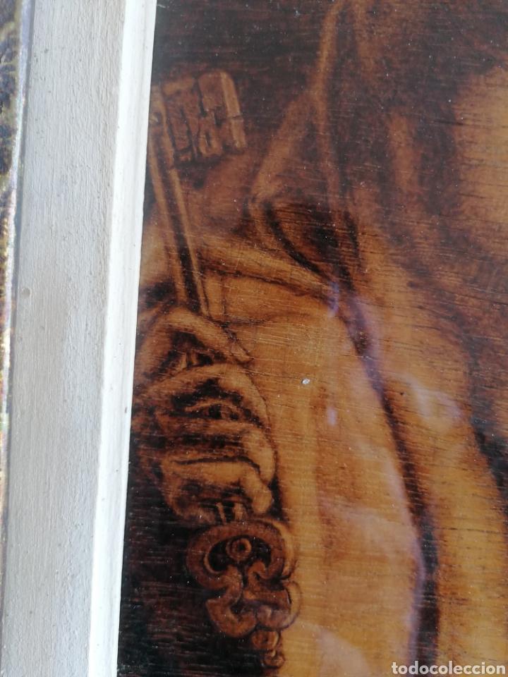 Arte: Grabado Sobre Madera J Masso 47x38cm - Foto 16 - 192555003