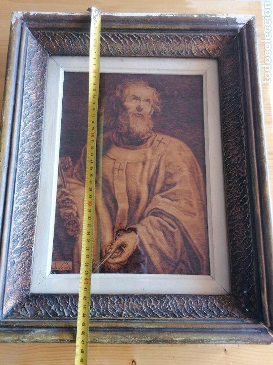 Arte: Grabado Sobre Madera J Masso 47x38cm - Foto 17 - 192555003