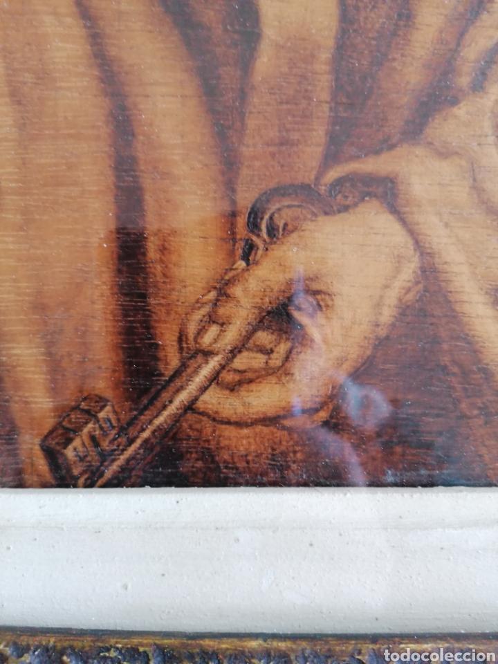 Arte: Grabado Sobre Madera J Masso 47x38cm - Foto 20 - 192555003