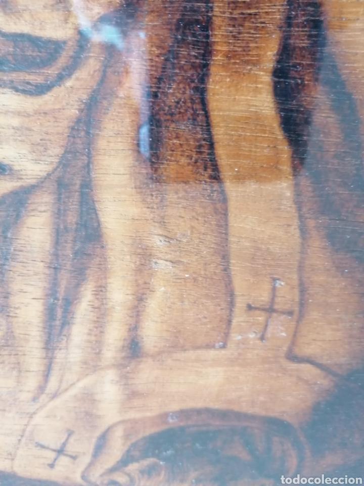Arte: Grabado Sobre Madera J Masso 47x38cm - Foto 21 - 192555003