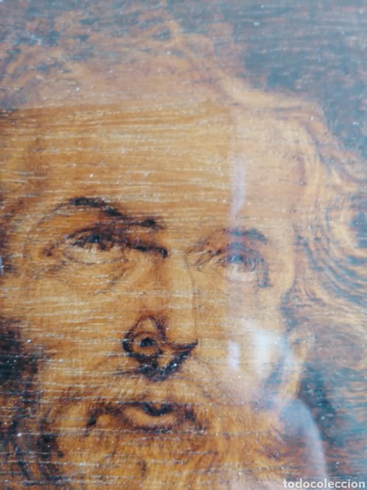 Arte: Grabado Sobre Madera J Masso 47x38cm - Foto 22 - 192555003