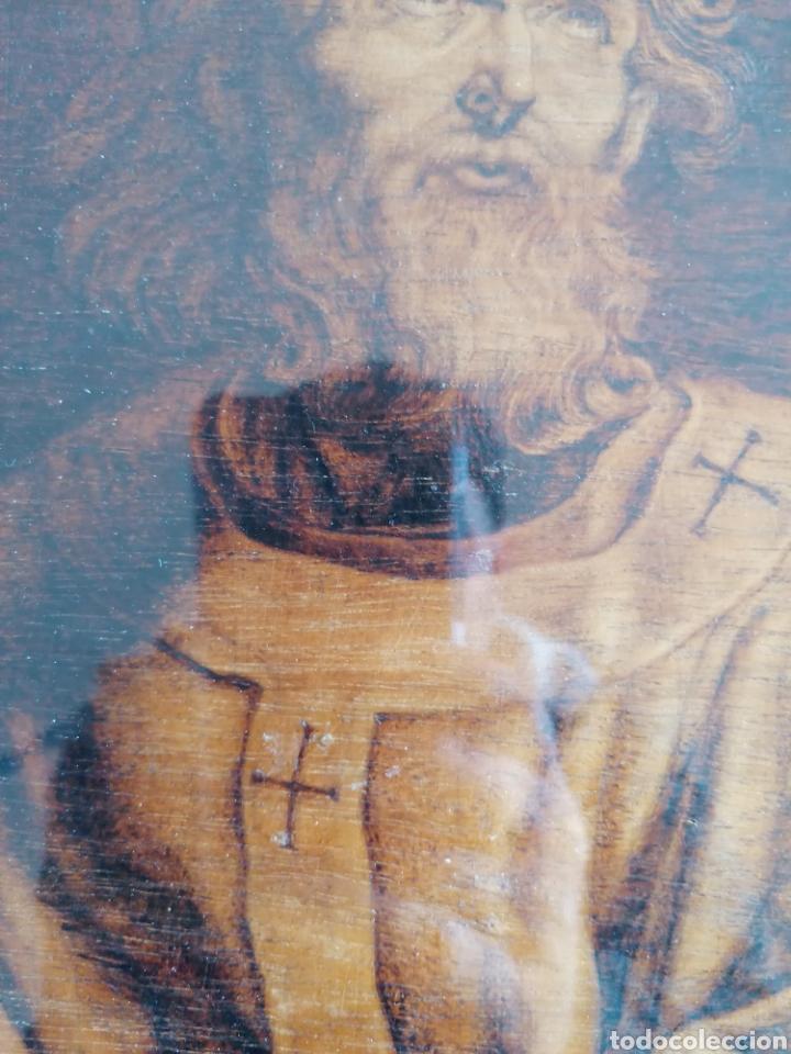 Arte: Grabado Sobre Madera J Masso 47x38cm - Foto 2 - 192555003