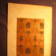 Arte: GRABADO DE PARCERISA: - DETALLES DE LA ALHAMBRA (N. 6) - (S. XIX).. Lote 192614565