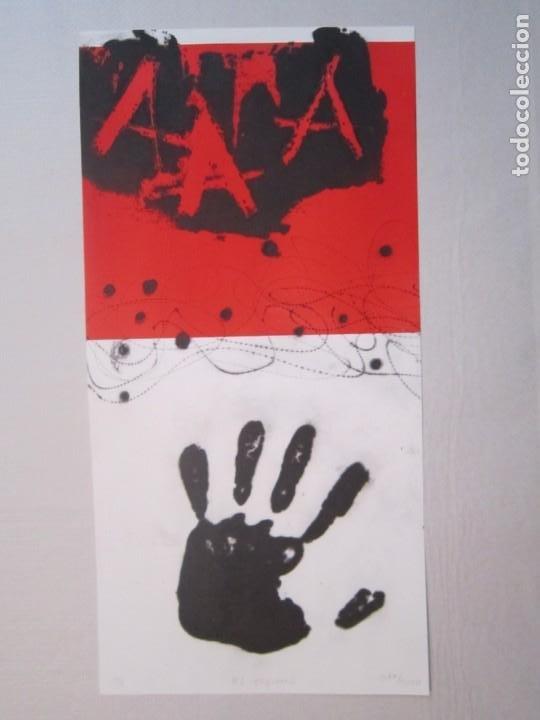 Arte: Mà esquerra (Mano izquierda) - GAP (Guillermo Antón Pardo) - 27,5x48cm - Punta seca y carborundo - Foto 7 - 192714501