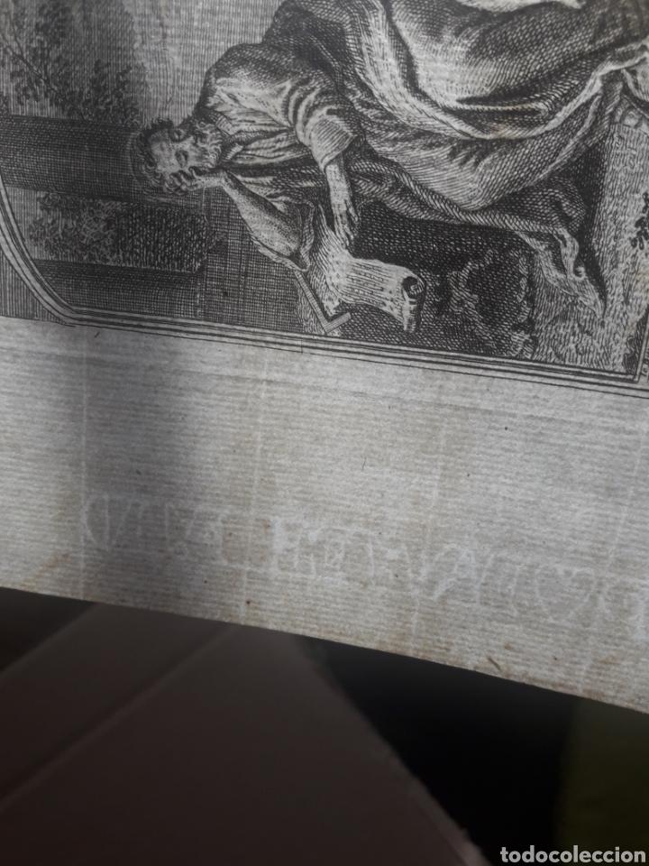 Arte: Antiguo grabado de San Mateo, con marca de agua - Foto 3 - 192722468