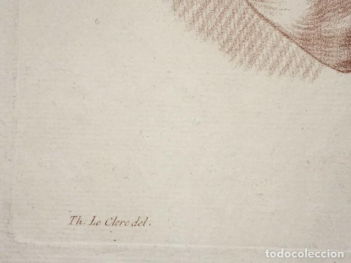 Arte: Grabado de un estudio de los Brazos. Francia. Siglo XVIII - Foto 4 - 192805386