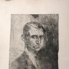 Arte: GRABADO DE JOAQUIN MIR TRINXET 1873-1940. . Lote 192817173