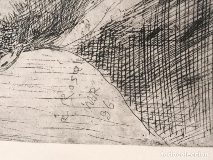 Arte: GRABADO DE JOAQUIN MIR TRINXET 1873-1940. - Foto 3 - 192817173