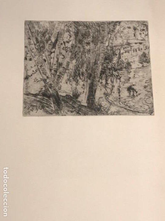 GRABADO DE JOAQUIN MIR TRIXET 1873-1940. (Arte - Grabados - Contemporáneos siglo XX)