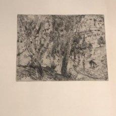 Arte: GRABADO DE JOAQUIN MIR TRIXET 1873-1940.. Lote 192818847