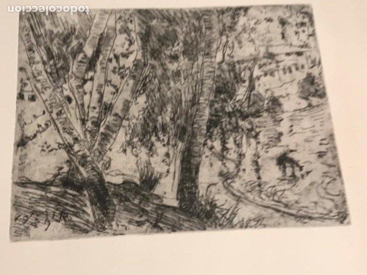 Arte: GRABADO DE JOAQUIN MIR TRIXET 1873-1940. - Foto 2 - 192818847