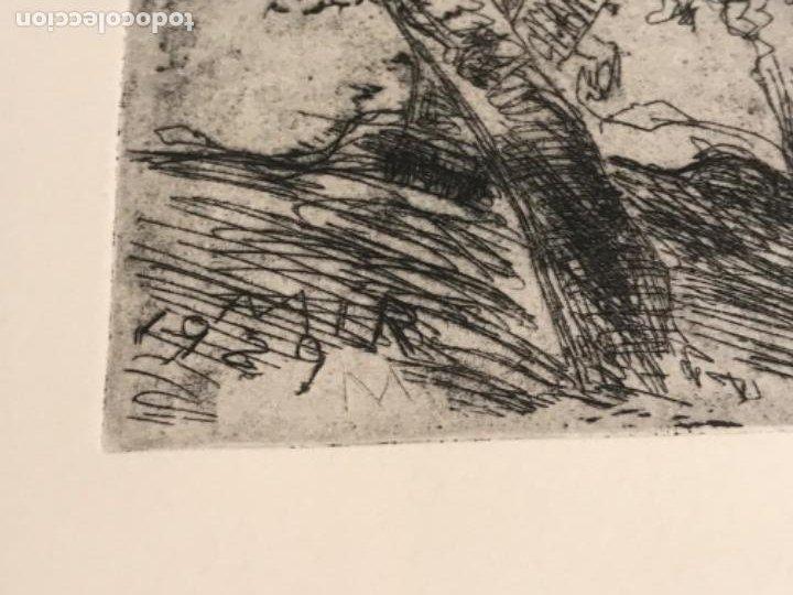 Arte: GRABADO DE JOAQUIN MIR TRIXET 1873-1940. - Foto 3 - 192818847