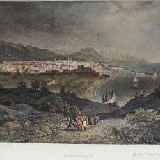 Arte: BARCELONA, VISTA DESDE MONTJUÏC MEYER, 1844, BARCELONA. Lote 192819267