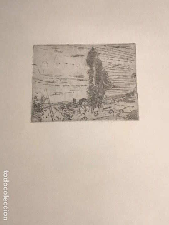 GRABADO DE JOAQUIN MIR TRINXET 1873-1940. (Arte - Grabados - Contemporáneos siglo XX)