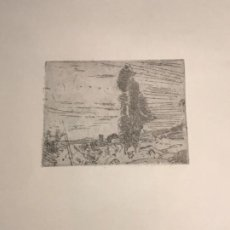 Arte: GRABADO DE JOAQUIN MIR TRINXET 1873-1940.. Lote 192819941