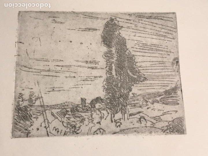 Arte: GRABADO DE JOAQUIN MIR TRINXET 1873-1940. - Foto 2 - 192819941