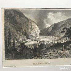 Arte: VISTA DE LA CIUDAD DE HARPERS FERRY, VIRGINIA OCCIDENTAL (EEUU), CA. 1860. REISS/MEYER. Lote 192865786