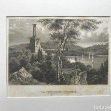 Arte: MONUMENTO DE KÓSCIUSZKO, WEST POINT, NUEVA YORK (EEUU), CA. 1869. MEYER. Lote 192867450