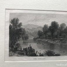 Arte: VISTA DEL RÍO JORDÁN (JORDANIA, ASIA), CA. 1840. CREUZBAUER. Lote 192871205