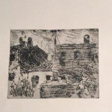 Arte: GRABADO DE JOAQUIN MIR TRINXET 1873-1940.. Lote 192908440