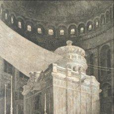 Arte: VISTA DEL SANTO SEPULCRO EN JERUSALÉN (ISRAEL, ASIA), HACIA 1850. EIGENTHUM. Lote 192958132