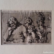 Arte: RAFAEL, AGUAFUERTE CUPIDO Y PSIKE, SIGLO XVIII. Lote 192972752