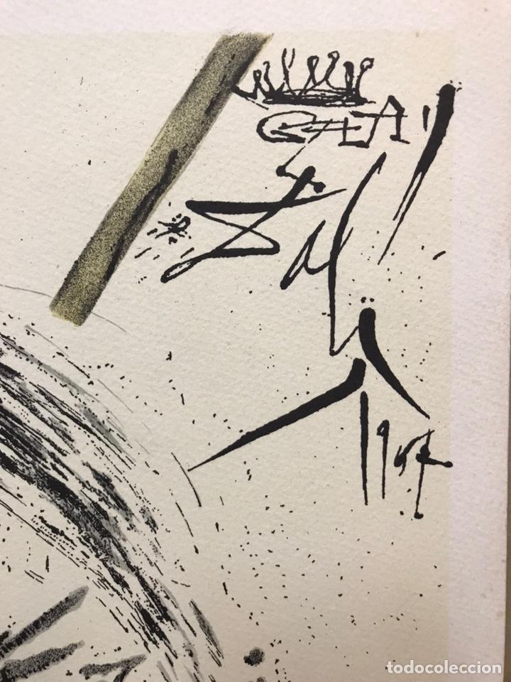 Arte: Homenaje a Gala, grabado de Salvador Dalí, firmado - Foto 2 - 193069937