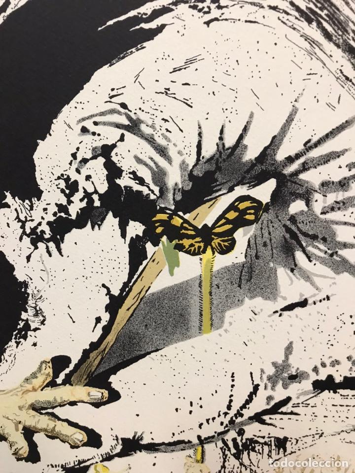 Arte: Homenaje a Gala, grabado de Salvador Dalí, firmado - Foto 3 - 193069937