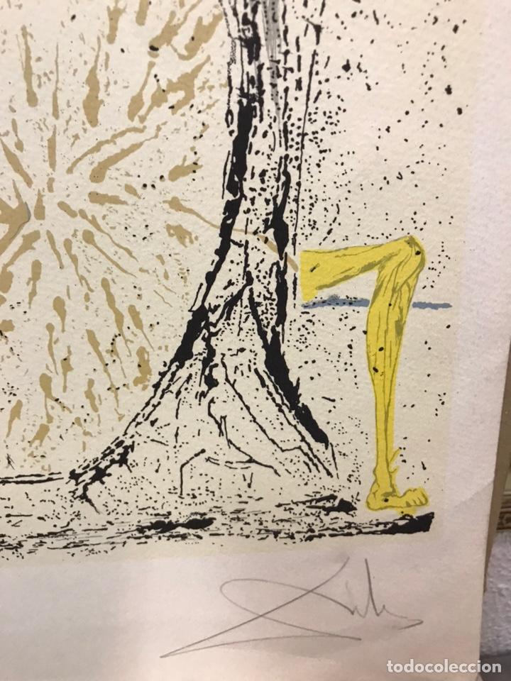 Arte: Homenaje a Gala, grabado de Salvador Dalí, firmado - Foto 5 - 193069937