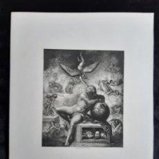 Arte: GRABADO TITULADO - EL SUEÑO DE LA VIDA HUMANA - DE W.T.FRAY 1850. LEER CONDICIONES ANTES DE PUJAR.. Lote 42209242
