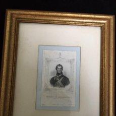 Arte: ANTIGUO GRABADO SIGLO XIX MARQUIS OF ANGLESEA, K.G. 1827. Lote 193333101