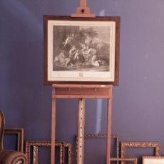 Arte: DESCANSO DE LA HUIDA A EGIPTO_ NICCOLÒ PUSSINO_ ANTONIO PERFETTI INCISE 1818_ RAFFAELLO MORGHEN. Lote 193350243