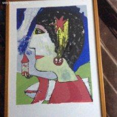 Arte: GRABADO SIGLO XX CON FIRMA DEL AUTOR. Lote 193399885