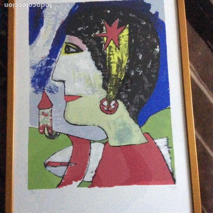 Arte: Grabado siglo XX con firma del autor - Foto 2 - 193399885