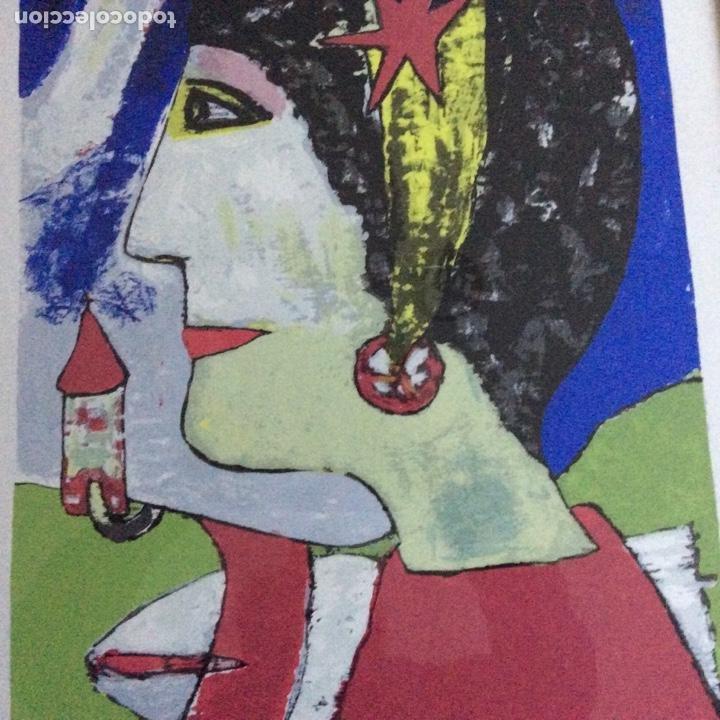 Arte: Grabado siglo XX con firma del autor - Foto 5 - 193399885
