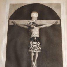 Arte: GRABAJO ORIGINAL DE BARTOLOME MAURA. CRISTO QUE SE VENERA EN MANACOR (MALLORCA). MADRID, 1888.. Lote 193549556