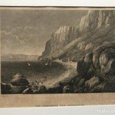 Arte: VISTA DE GIBRALTAR (SUR DE ESPAÑA), HACIA 1860. REISS/MEYER. Lote 193581215