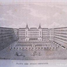 Arte: VISTA DE UNA PLAZA DE TOROS (ESPAÑA), 1836. ANÓNIMO. Lote 193652760