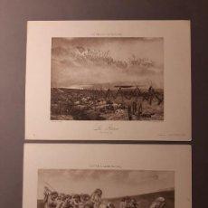 Arte: DOS BONITOS FOTOGRABADOS FRANCESES. Lote 193735681