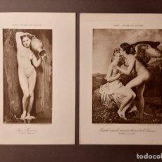 Arte: DOS BONITOS FOTOGRABADOS FRANCESES. Lote 193744147