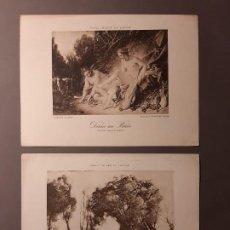 Arte: DOS BONITOS FOTOGRABADOS FRANCESES. Lote 193744956