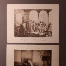 Arte: DOS BONITOS FOTOGRABADOS FRANCESES. Lote 193748771