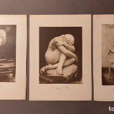 Arte: TRES FOTOGRABADOS FRANCESES. Lote 193750761