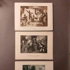 Arte: TRES BONITOS FOTOGRABADOS. PARÍS. Lote 193759436