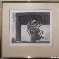 Arte: MALTE SARTORIUS, FIRMADO Y NUMERADO, 3/60, BODEGÓN 1985, MEDIDA TOTAL ENMARCADO 47X45CM. Lote 193763270