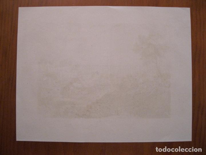 Arte: Vista de la ciudad de Segovia, (España), ha cia 1835. Anónimo. - Foto 3 - 193865612
