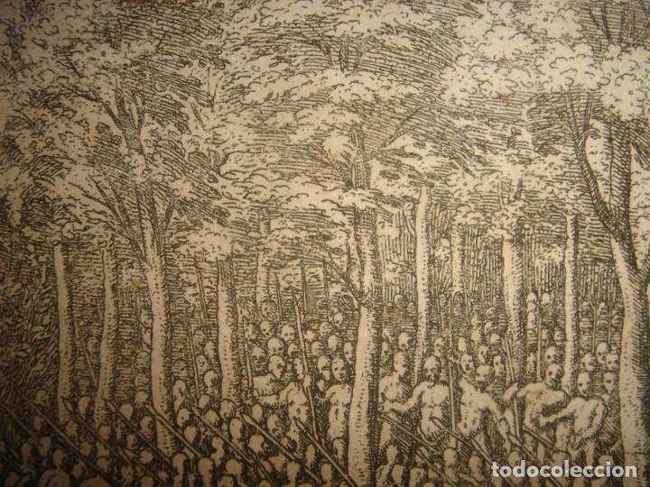 Arte: RARÍSIMO GRABADO BATALLA MABILIA, ALABAMA, SOTO / TUSKALOOSA, USA, ORIGINAL, DE BRY, FRANKFURT,1655 - Foto 11 - 193943991