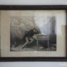 Arte: BEETHOVEN _ FRANÇOIS-JOSEPH-AIMÉ DE LEMUD (1817-1887) . Lote 194077521