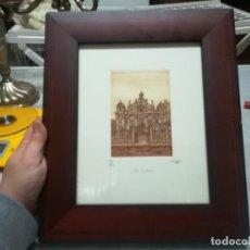 Arte: PRECIOSO GRABADO LAS SALESAS 115/250 FIRMA SIN IDENTIFICAR MIREN FOTOS. Lote 194159801