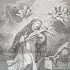 Arte: EL BEATO JUAN BAUTISTA DE LA CONCEPCION - MORENO TEJADA LO GRABÓ.GRABADO A LA PLANCHA DE COBRE.. Lote 194189938